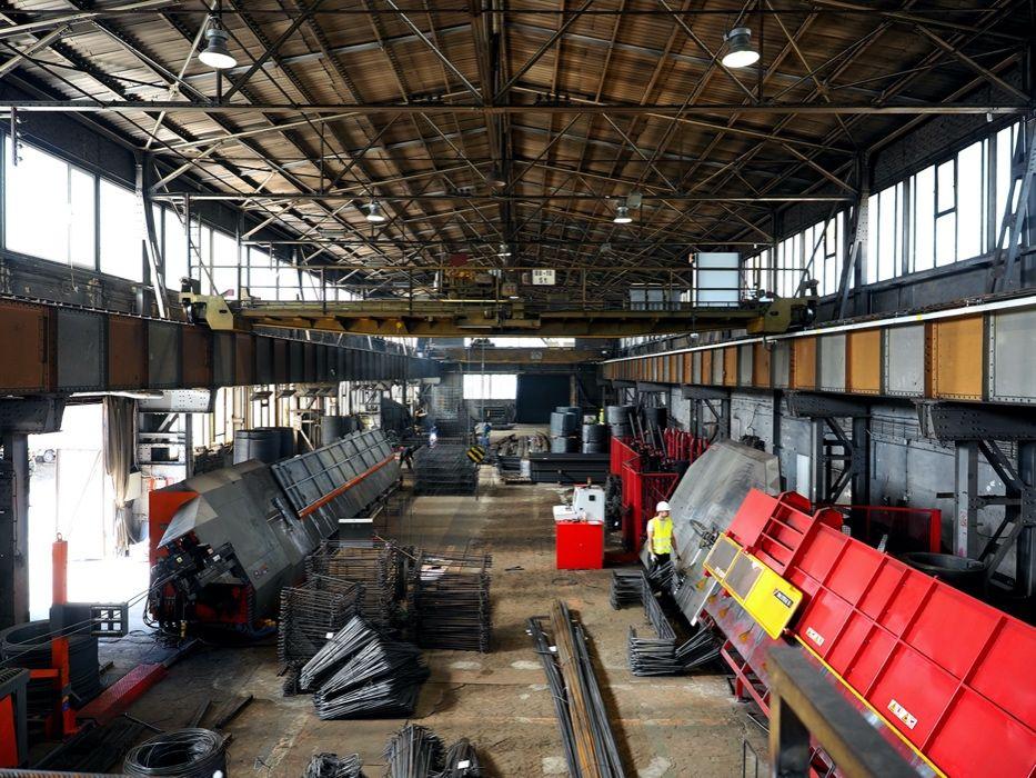 Zbrojenia budowlane, spawanie stali zbrojeniowej, siatki zbrojeniowe Katowice - image 1
