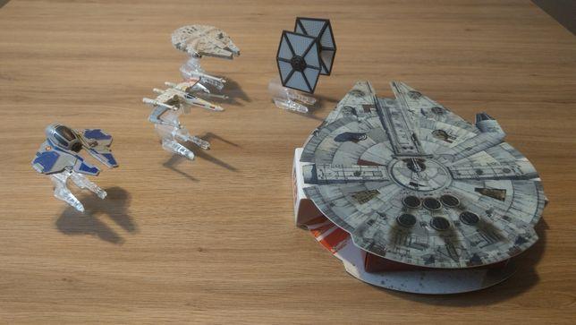 Star-Wars figurki i statki duży zestaw