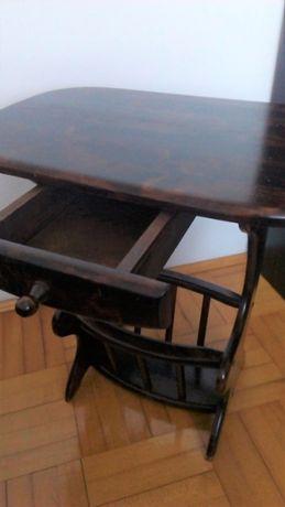 Nocna szafka DREWNIANA / stolik nocny - drewno!