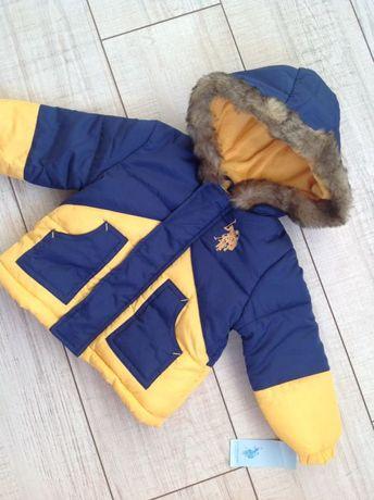 Демисезонная детская курточка U.S.Polo Assn оригинал из США us polo