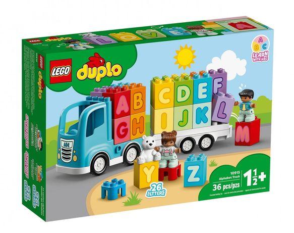 Lego Duplo 10915 Ciężarówka z alfabetem Wys24 na prezent