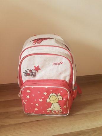 Plecak szkolny pojemny 3 przegrodki) dla dziewczynki