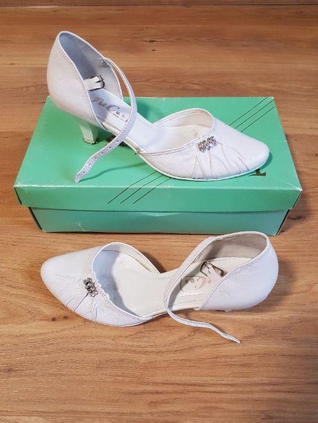 Buty ślubne białe rozmiar 35