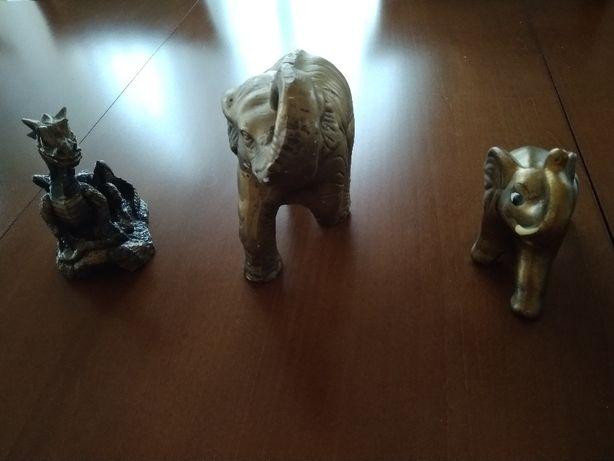 Figurka Figurki Słoń Smok Ozdoba