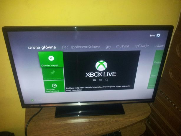 Xbox 360 60gb LT 3.0 pad 10 gier możliwe granie online 100% sprawny