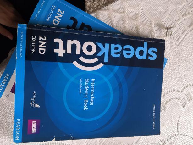Speakout 2nd podręcznik książka do angielskiego