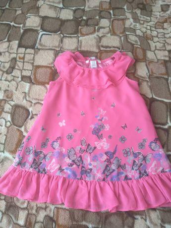 Нарядное летнее платье H&M рост 104