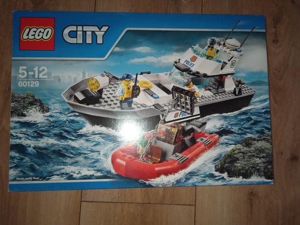 LEGO city statek policyjny