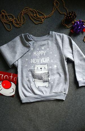 Новогодний свитшот (свитер)