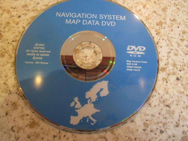 DVD / CD Nissan - Atualização GPS / Navegação