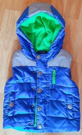 Безрукавка / жилетка для хлопчика / куртка без рукавів / рукавов