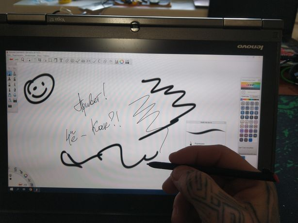 Lenovo ThinkPad Сенсорный