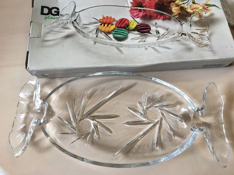 Блюдо тарелка в форме конфеты