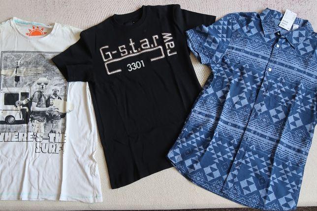 Koszulki na lato chłopięce,zmieniają kolor, przewiewwne, 100% cotton