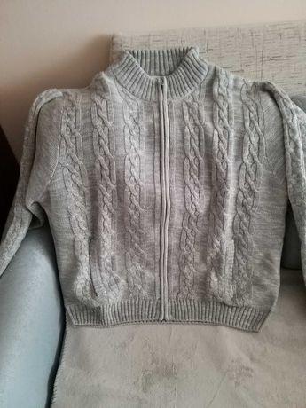 Swetr męski duży rozmiar, nowy