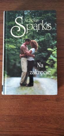 """Nicholas Sparks """"Na zakręcie""""- twarda oprawa"""