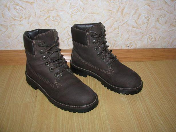 Landrover нубук ботинки черевики 37 р по вст 24.5 см