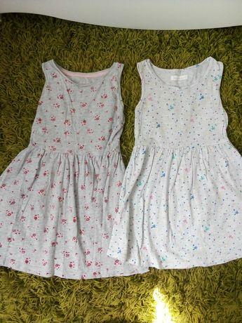 Zestaw sukienek na 5-6 lat