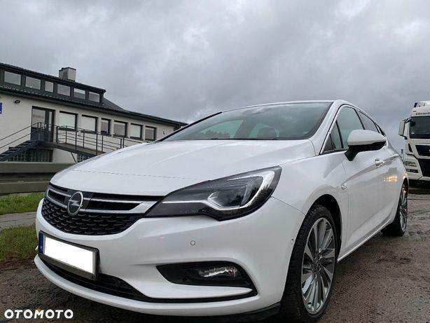 Opel Astra Full Opcja: LED IntelliLux, Fotel AGR z masażem, Tapicerka skórzana