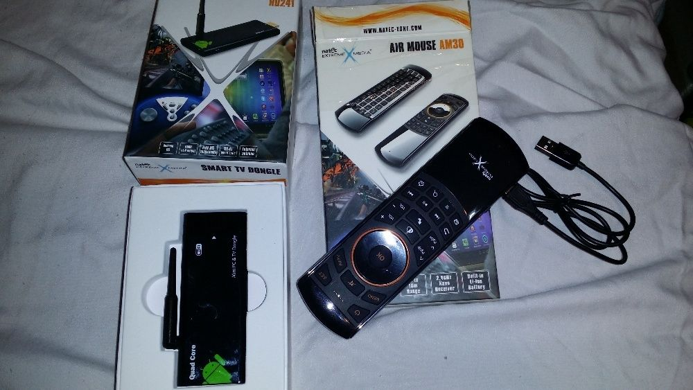 NATEC SMART TV Dongle HD241 i Air mouse AM30