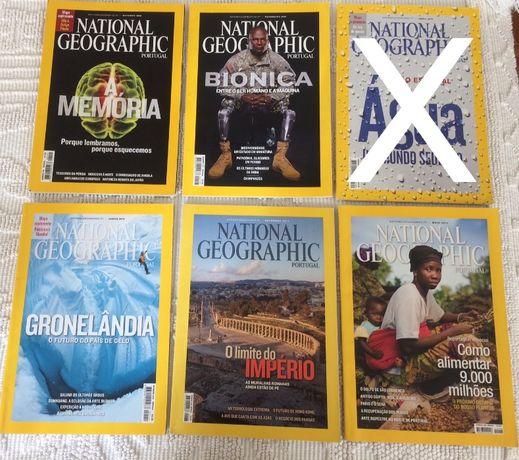 Revistas National Geographic Portugal