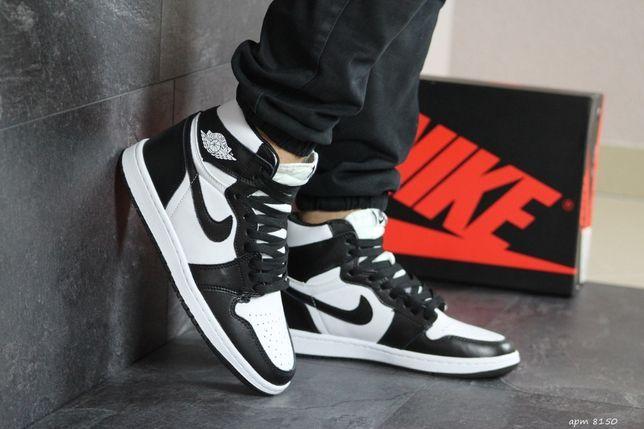 УТЕПЛЯЙСЯ СТИЛЬНО! Кроссовки Nike Air Jordan Retro High B/W