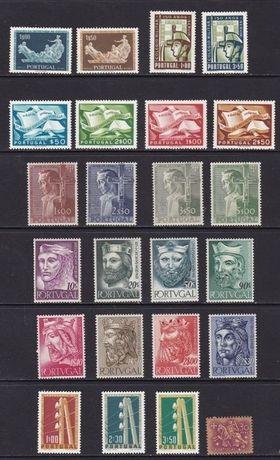 Selos Novos de Portugal Anos 1954/55
