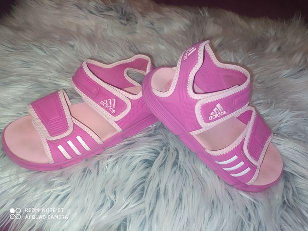 Adidas sandałki rozmiar 33 wkładka 20 cm sandały buciki super stan