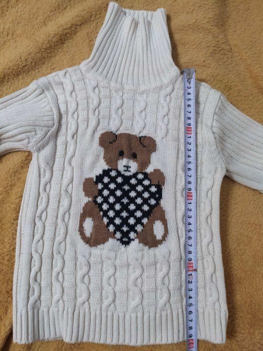 Свитер Мишка для девочки 4-5 лет Купянск - изображение 1