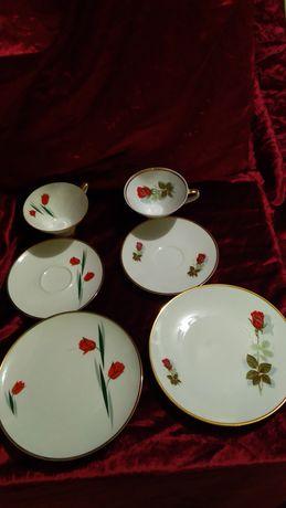 Чайная тройка фарфор Бавария