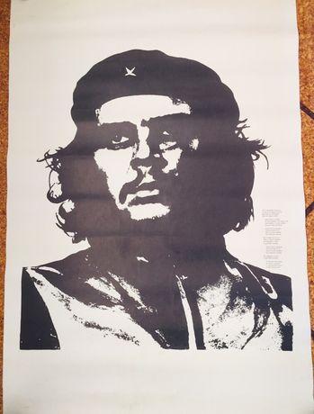 Cartaz Político Che Guevara Original Anos 70. Últimos dias!