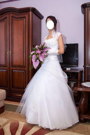Suknia ślubna Sydney PIĘKNA ZDOBIONA