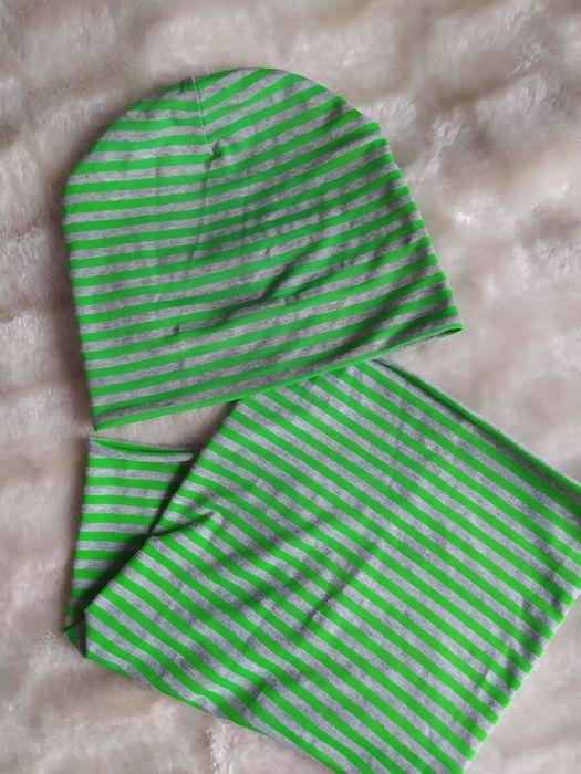 Трикотажная шапка+ хомут (50-52) Львов - изображение 1