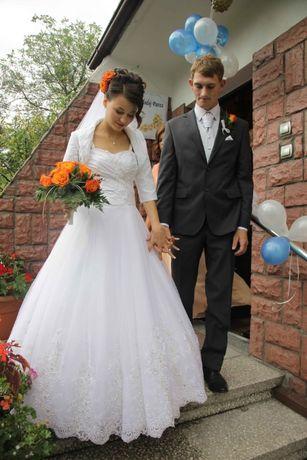 Piękna suknia ślubna sukienka na ślub 34