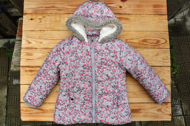 куртка для девочки George, на 3-4 года, б/у.