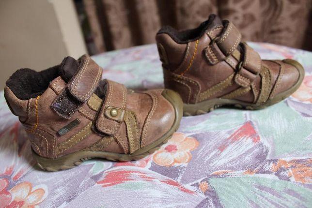 Шкіряні німецькі демісезонні черевички Bama - Tex 20 р.