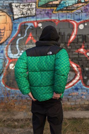 The North Face X Gucci meska kurtka w 2 kolorach s-xl