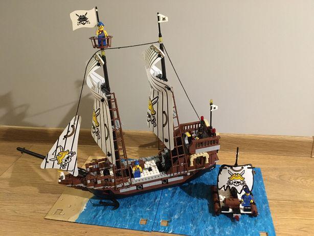 Statek piracki z klocków jak LEGO