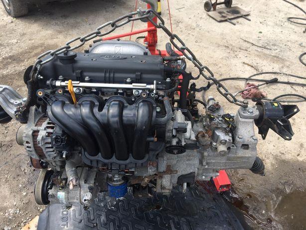 Kia Ceed Hyundai i30 Hyundai Accent Двигатель 1.4 G4FA Разборка
