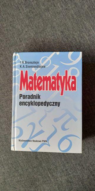 Matematyka Poradnik encyklopedyczny Bronsztejn książka, studia