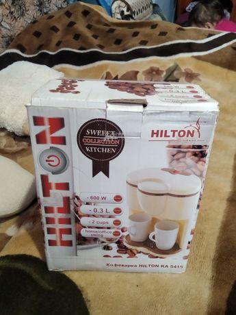 Кофеварка кофемашина Кофеварка HILTON KA 5415 2 чашки (nk5117)