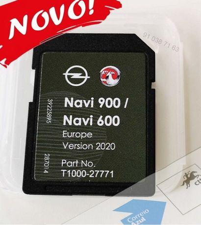 Opel SD card Cartao de GPS Mapas - Europe 2021