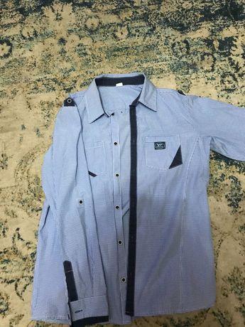 Koszula młodzieżowa w kratę