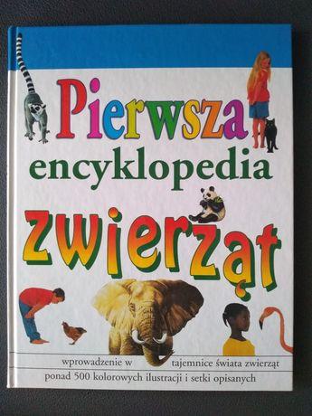 Pierwsza encyklopedia zwierząt druga książka za darmo