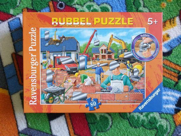 Gratis!! Puzzle Ravensburger 80 Budowa i Kubuś Puchatek 24
