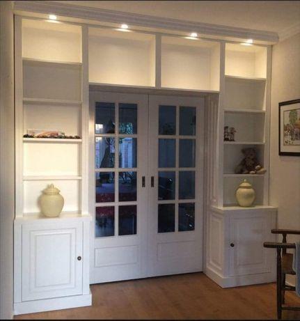 drzwi wewnętrzne drewniane białe w zabudowie 3 Promocja miesiąca -100