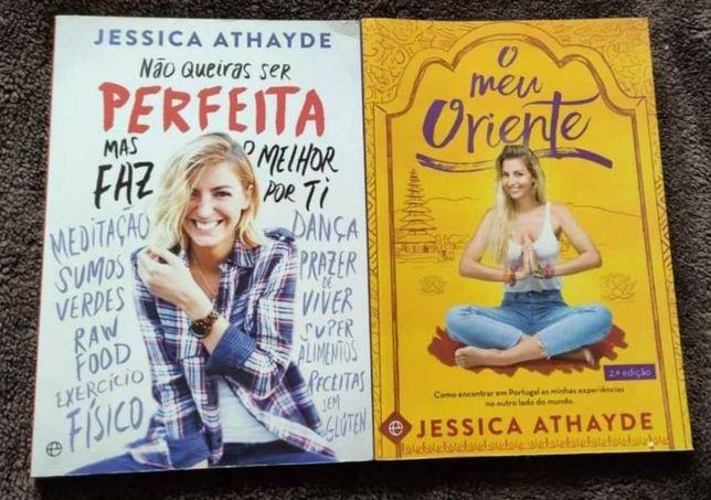 """Livros Jéssica Athayde """"Não Queiras Ser Perfeita mas faz o melhor por"""