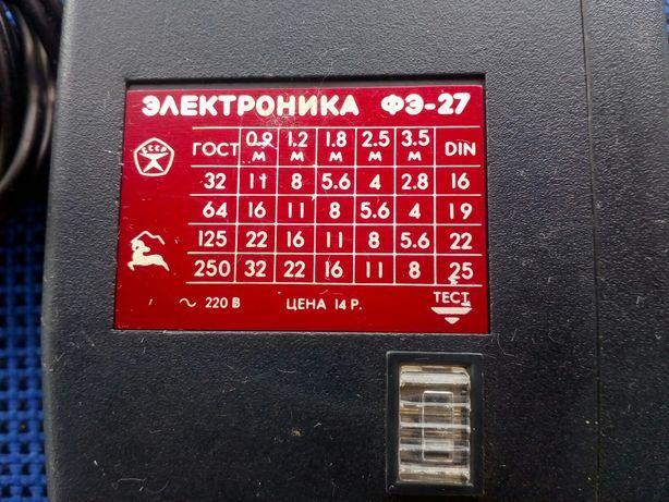 ФОТОВСПЫШКА Электроника - 27 изготовление СССР