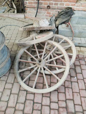 Wóz drewniany konny