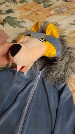 Новогодний костюм волк